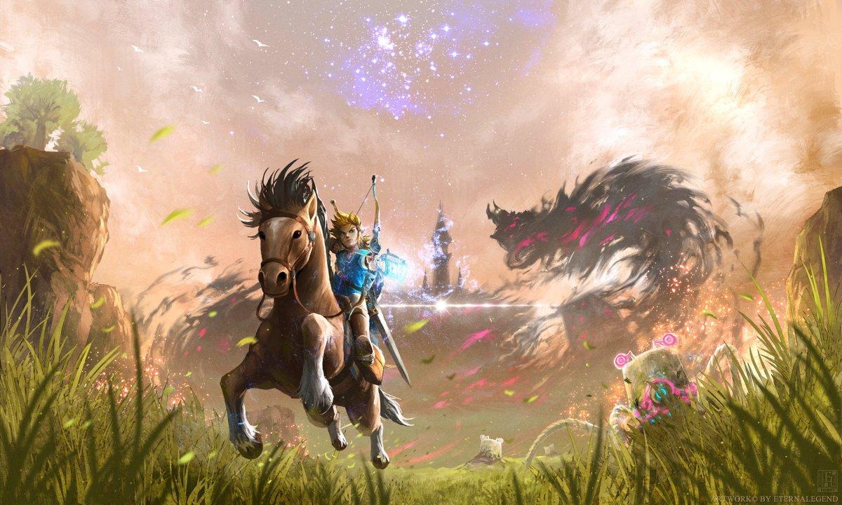 The Legend of Zelda: Breath of the Wild é o 4 Zelda a alcançar nota máxima Famitsu.